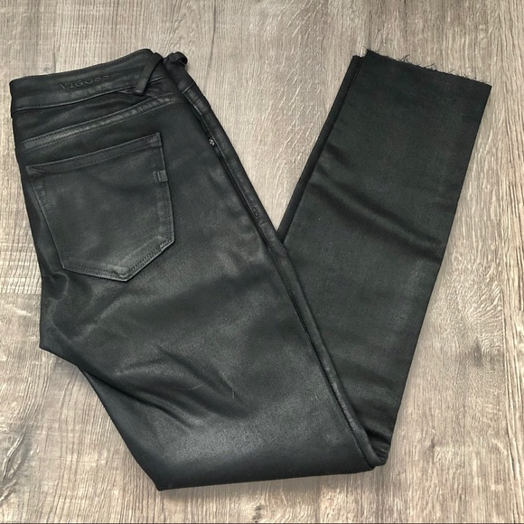 Vigoss Shiny Black skinny jeans